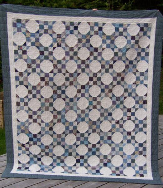 Quilt Patterns Snowball Block : Bonnie Hunter s Snowball Quilt